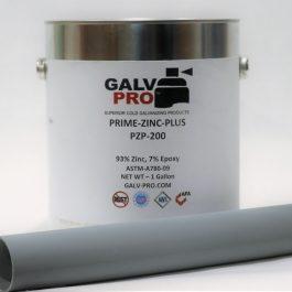 "Prime-Zinc-Plus™ (95% Zinc) | PZP-200 Gallon <span class=""bold-desc"">Battle Ship Gray Finish</span>"