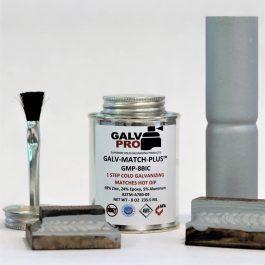 """Galv-Match-Plus™ (69% Zinc) GMP-8BIC 8oz Brush In Cap <span class=""""bold-desc"""">Matches Hot Dip</span>"""
